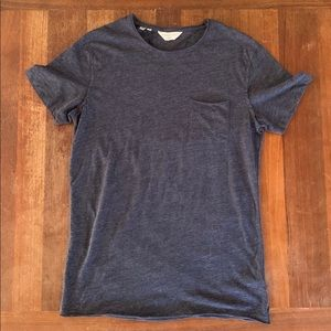 Selected Homme Dark Gray S/S T Shirt Large